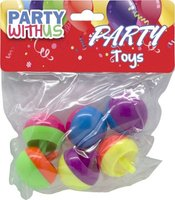 Party Favour Apple Spinning Top: