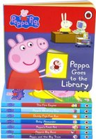 Peppa Pig: First Experiences Collection - 8 Story Board Books: Ladybird Books