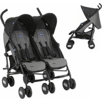 Chicco Echo Twin Complete Stroller (Coal):