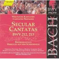 J. S Bach - Secular Cantatas Bwv 212-213 (CD): J. S Bach
