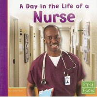 A Day in the Life of a Nurse (Paperback): Connie Fluet