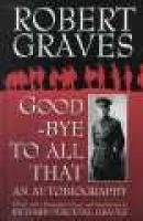 Goodbye to All That (Hardcover, n.e.of 1929 ed): Robert Graves