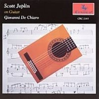Various Artists - Scott Joplin on Guitar (CD): Joplin / de Chiaro, Joplin, De Chiaro