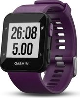 Garmin Forerunner 30 GPS Running Watch with Wrist-based Heart Rate (Amethyst):