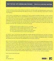 Not Teflon: Mtv Graphic Design (Hardcover): Jeffrey Keyton