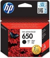 HP 650 Black Ink Cartridge (CZ101AE):