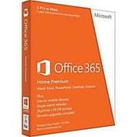 Microsoft Office 365 Home Premium (License Key Only)(1 Year, 5 PCs):