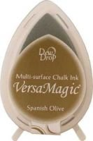Tsukineko VersaMagic Dew Drop Ink Pad - Spanish Olive:
