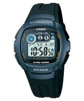 Casio W-210-1BV Watch with 10-Year Battery: