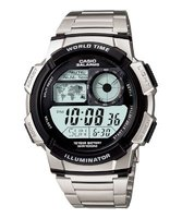 Casio AE-1000WD-1AV Watch with 10-Year Battery: