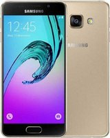 "Samsung Galaxy A3 2016 4.5"" Smartphone with LTE  (A310F)(16GB)(Gold):"