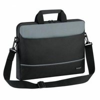 "Targus Intellect Top Loading Shoulder Bag for 15.6"" Notebooks (Black and Grey):"