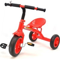 Classic Tricycle with Bell (Red):