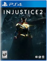Injustice 2 (PlayStation 4, Blu-ray disc):