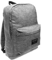 Jack and Jones Mens Basic Logo Backpack (Grey Mel):