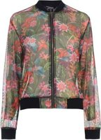 Golddigga Womens Fashion Jacket (Floral):
