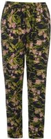 Golddigga Womens AOP Pants (Green AOP):