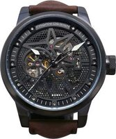 Matt Arend Ma 717 Black Star 52 Skeleton Watch: