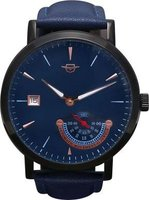 Matt Arend Deep Ocean Commitment Small Second Watch (Blue):