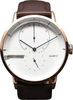Matt Arend Ma 790 Cosmo Watch (Rose Gold and Tan):