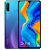 "Huawei P30 Lite 6"" Octa-Core Smartphone (128GB)(Android 9.0 (Pie)(Peacock Blue):"