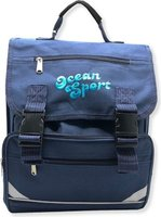 Division School Backpack (Blue):