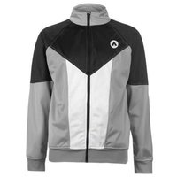 Airwalk Mens Hammer Track Jacket (Black, Grey and White) [Parallel Import]: