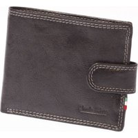 Paolo Rossi Genuine Leather Sportman's Range Wallet (Black):