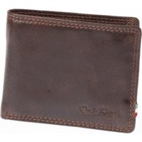Paolo Rossi Genuine Leather Bush Range Wallet (Brown):