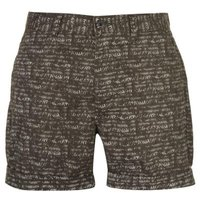 Pierre Cardin Mens Aztec Shorts - Khaki  [Parallel Import]: