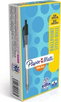 Paper Mate InkJoy100RT Retractable Ballpoint Pen - Medium Point (Black)(Box of 20):
