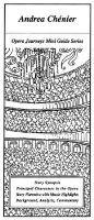Giordano's Andrea Chenier (Electronic book text): Burton d Fisher