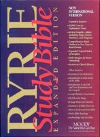 New International Version: Burgundy Indexed (Paperback): Charles C. Ryrie