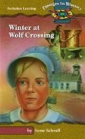 Winter at Wolf Crossing (Hardcover): Anne Schraff