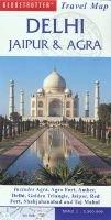 Globetrotter travel map: Delhi, Jaipur and Agra (English, German, French, Sheet map, folded): Globetrotter