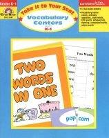 Vocabulary Centers, Grades K-1 - Grades K-1 (Paperback, Teacher): Jo Ellen Moore