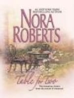 Table for Two (Large print, Hardcover, large type edition): Nora Roberts, Kurt Widmer