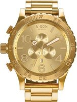 Nixon Men's 51-30 Chrono Analog Watch (Rose Gold):