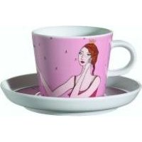 Arzberg Frog Princess Cup and Saucer (Multicolour):