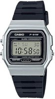 Casio Retro Digital Wrist Watch (Black and Silver):