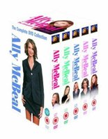 Ally McBeal - The Complete DVD Collection - Season 1 - 5 (DVD, Boxed set): Calista Flockhart, Peter MacNicol, Portia De Rossi,...