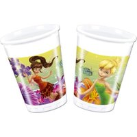 Disney Fairies Magic 8 Plastic Cups (200ml):