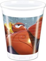 Big Hero 6 - 8 Plastic Cups (200ml):