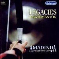 Aurel Hollo - Legacies (Amadinda Percussion Group) (CD): Aurel Hollo