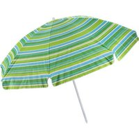 Seagull Tilt UV50 Silver Coated Beach Umbrella (225 cm) (Multicolour):