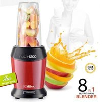 Milex Nutri1200 8-in-1 Nutritional Blender (Red):