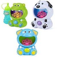 Bubble Fun Bubble Machine Hippo/Elephant/Dog: