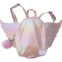 Mini Backpack With Angel Wings (Pink):