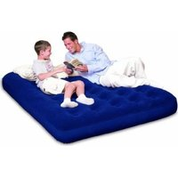 Bestway Flocked Air Bed (Double) (191 x 140 x 22cm):