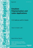 Emulsion Polymerisation and Latex Applications, v. 14, No. 4 (Paperback): Eric S. Daniels, Christopher D. Anderson